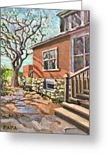 April Afternoon Light Greeting Card