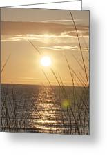 April Beach Greeting Card