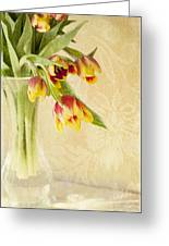 April Flowers Greeting Card