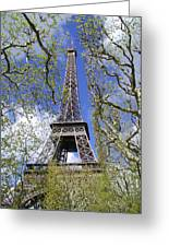 April In Paris Greeting Card