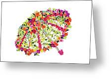 April Showers Bring May Flowers Greeting Card by Lauren Heller