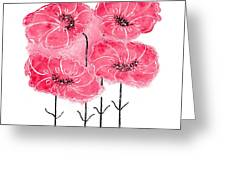 April's Flowers Greeting Card