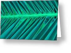 Aqua Angles Greeting Card