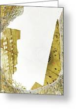 Aqua Metallic Series Together Apart Greeting Card