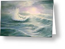 Aqua Sea Greeting Card