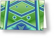 Aquamarine Greeting Card