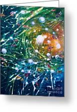 Aquarium Galaxy Greeting Card