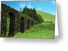 Aqueduct Greeting Card