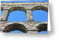 Aqueduct Of Segovia Greeting Card