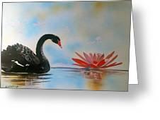 Aqueous Blossom  Greeting Card