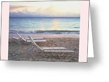 Aruba Beach Sunset Greeting Card
