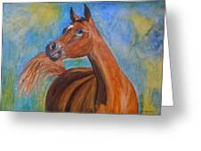 Arabian Beauty Greeting Card