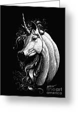 Arabian Unicorn Greeting Card