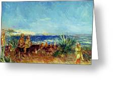 Arabs By The Sea Greeting Card