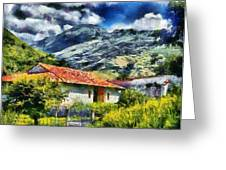 Aragua Valley Greeting Card