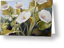 Aram Lillies Greeting Card