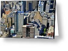Aramark Psfs Buildings 1101 Market St Philadelphia Pa 19107 2926 Greeting Card by Duncan Pearson