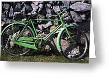 Aran Islands, Co Galway, Ireland Bicycle Greeting Card