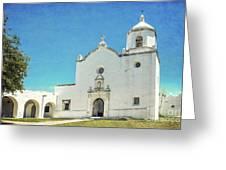 Mission La Bahia Greeting Card