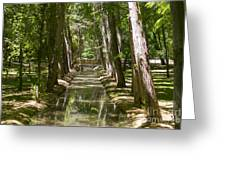Aranjuez Park Canals Greeting Card
