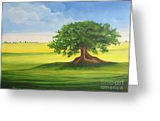 Arbol De Ceiba Greeting Card