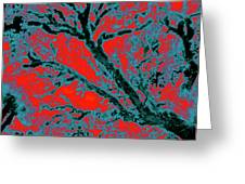 Arboreal Plateau 6 Greeting Card