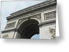 Arc De Triomphe, Paris, France Greeting Card