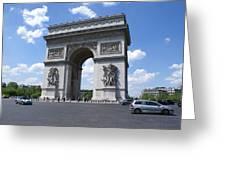 Arc De Triumph In Paris 2 Greeting Card