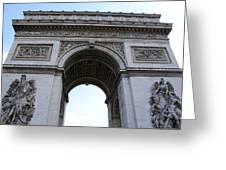 Arc De Triumph In Paris Greeting Card