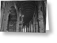 Arcades Of Coliseum  Greeting Card