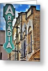 Arcadia Theater Greeting Card