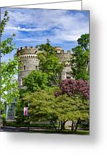 Arcadia University Castle - Glenside Pennsylvania Greeting Card