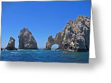 Arch At Cabo San Lucas Greeting Card