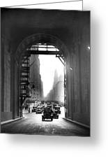 Arch At Grand Central Station Greeting Card