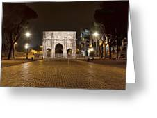 Arch At Night Greeting Card