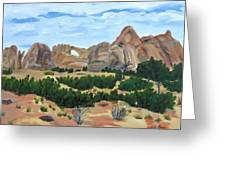 Arch In Landscape Greeting Card