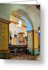 Arch In San Juan Bautista Mission Greeting Card