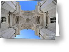 Arch-itecture Greeting Card