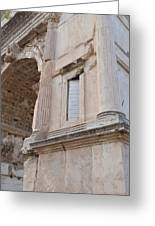 Arch Of Titus Greeting Card