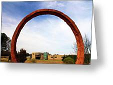 Arch Over Ncma Greeting Card