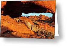 Arch View Greeting Card
