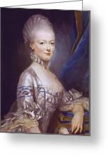 Archduchess Maria Antonia Of Austria 1769 Greeting Card
