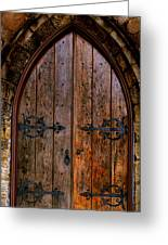 Arched Doorway Greeting Card