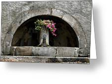 Arched Fountain Greeting Card
