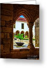 Arched View Greeting Card
