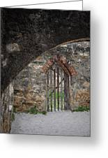 Arched Way Greeting Card