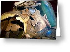 Archeological Dig Greeting Card