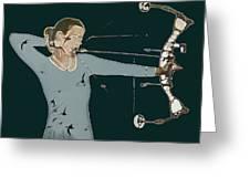 Archer Greeting Card