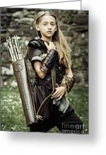 Archer Warrior Greeting Card