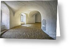 Arches And Curves Greeting Card
